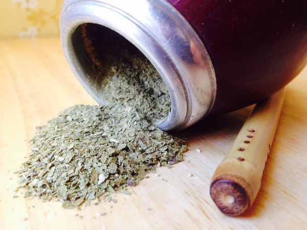 Organic Loose-leaf Yerba mate, gourd and bombilla at Organicmate.net