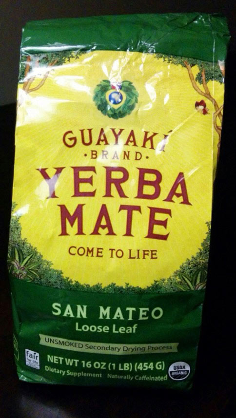 Loose leaf Yerba mate