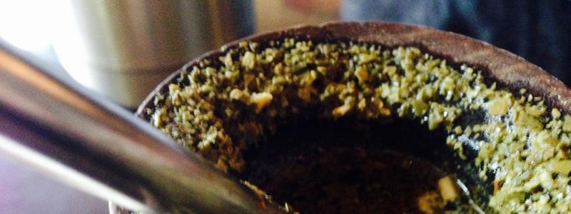Yerba mate in Gourd