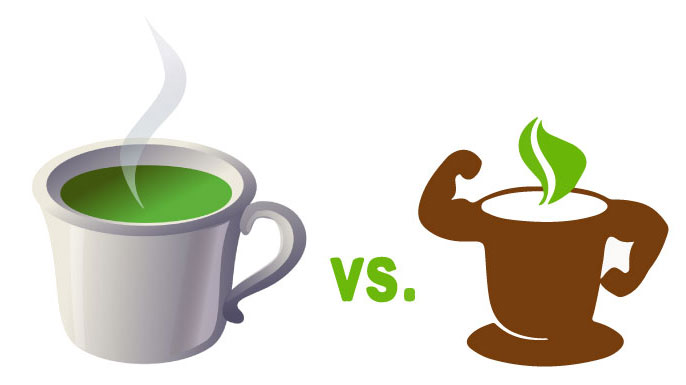 Yerba mate vs green tea