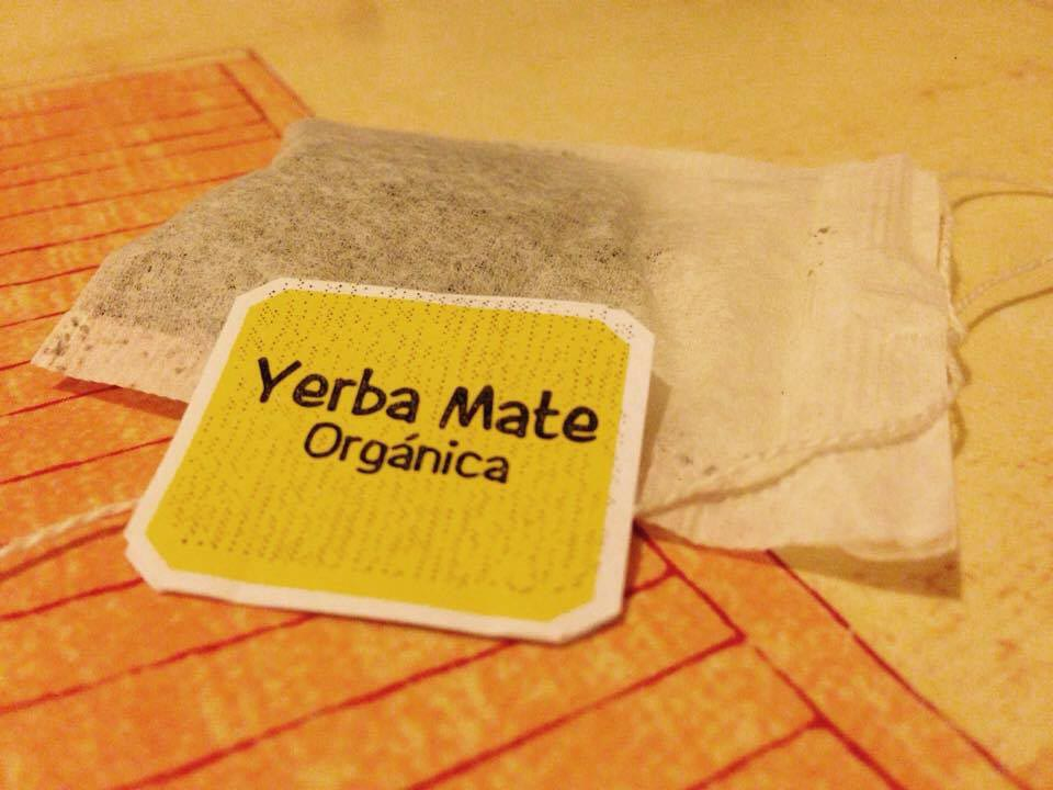 Organic Yerba mate in Tea bags